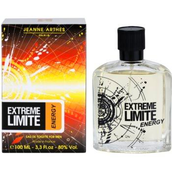 Jeanne Arthes Extreme Limite Energy Eau de Toilette pentru barbati