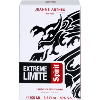 Jeanne Arthes Extreme Limite Spirit Eau de Toilette for Men 4