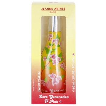 Jeanne Arthes Love Generation Pink Eau de Parfum para mulheres