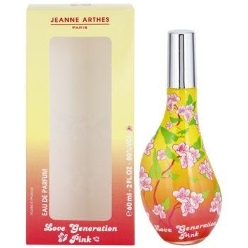 Jeanne Arthes Love Generation Pink Eau de Parfum para mulheres 1