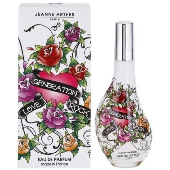 Jeanne Arthes Love Generation Rock Eau De Parfum pentru femei 60 ml