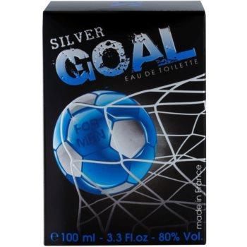 Jeanne Arthes Silver Goal Eau de Toilette pentru barbati 4