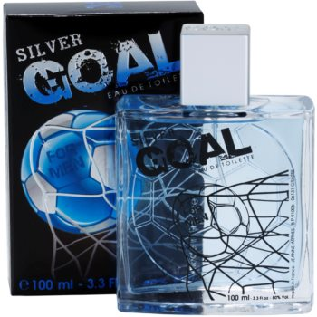 Jeanne Arthes Silver Goal Eau de Toilette pentru barbati 1