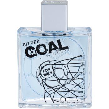 Jeanne Arthes Silver Goal Eau de Toilette pentru barbati 2