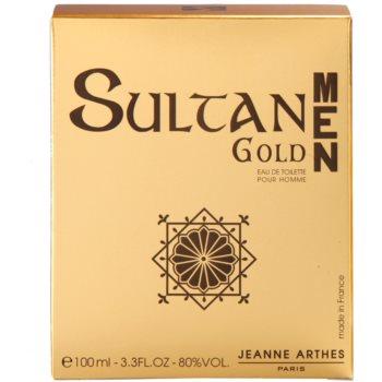 Jeanne Arthes Sultane Gold Men Eau de Toilette for Men 4