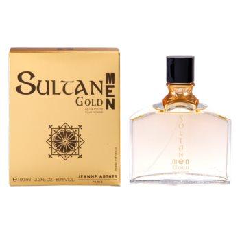 Jeanne Arthes Sultane Gold Men Eau de Toilette for Men