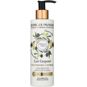 Jeanne en Provence Divine Olive lotiune de corp hranitoare cu ulei de masline