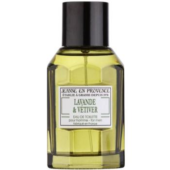 Jeanne en Provence Lavander & Vétiver Eau de Toilette pentru bărbați