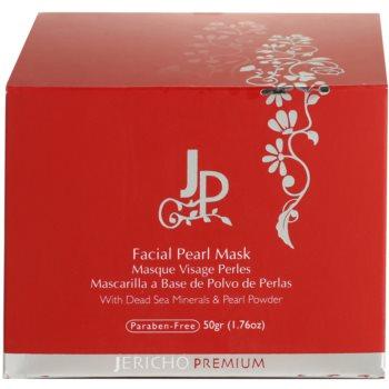Jericho Premium maseczka do twarzy z perłami 5
