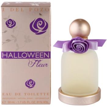 Jesus Del Pozo Halloween Fleur Eau de Toilette pentru femei 50 ml