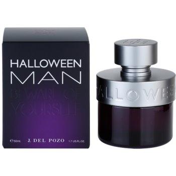 Jesus Del Pozo Halloween Man eau de toilette pentru barbati 50 ml