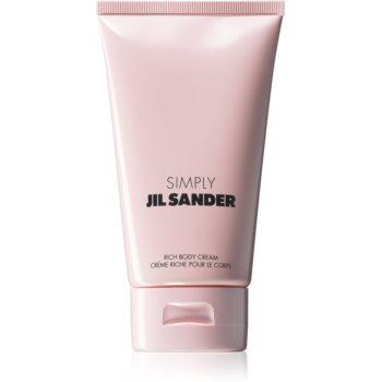 Jil Sander Simply Poudrée Intense crema de corp pentru femei
