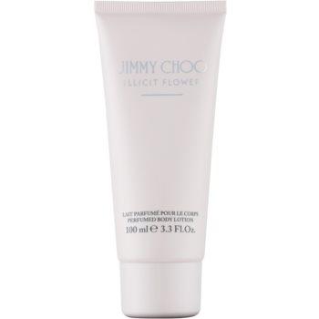 Jimmy Choo Illicit Flower lapte de corp pentru femei 100 ml