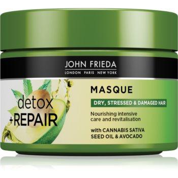 John Frieda Detox & Repair mascã detoxifiantã pentru par deteriorat imagine