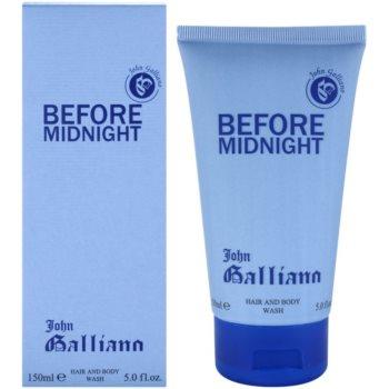 John Galliano Before Midnight sprchový gel pro muže