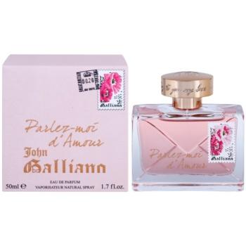 John Galliano Parlez-Moi d'Amour eau de parfum pentru femei 50 ml