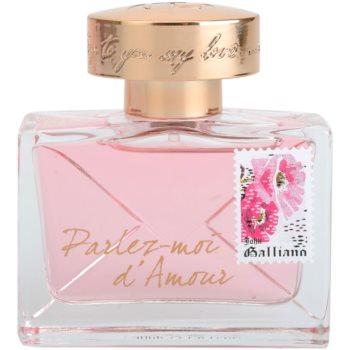 John Galliano Parlez-Moi d'Amour parfumska voda za ženske 2