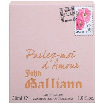 John Galliano Parlez-Moi d'Amour parfumska voda za ženske 4