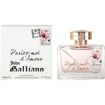 John Galliano Parlez-Moi dAmour Eau de Toilette pentru femei 50 ml