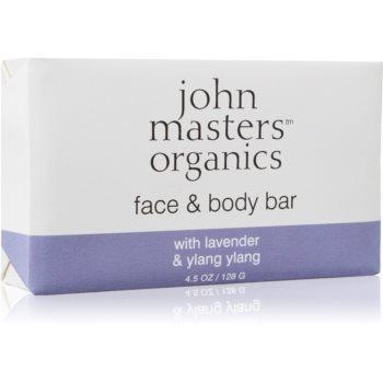 John Masters Organics Lavender & Ylang Ylang sapun hidratant pentru fata si corp