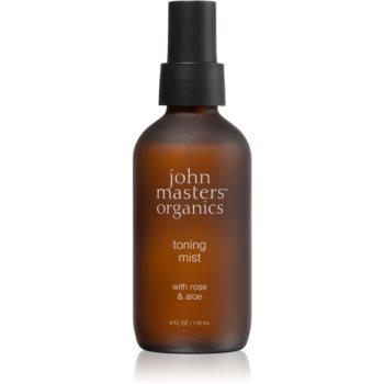 John Masters Organics Rose & Aloe ceață facială tonică