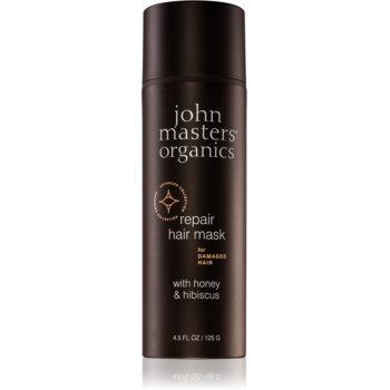 John Masters Organics Honey & Hibiscus mascã regeneratoare pentru pãrul deteriorat imagine