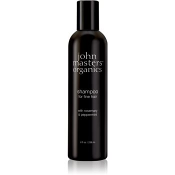 John Masters Organics Rosemary & Peppermint Sampon pentru par fin