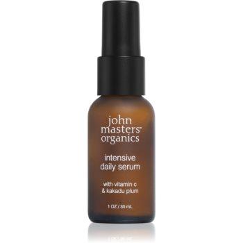 John Masters Organics Dry to Mature Skin ser facial de intinerire cu vitamina C