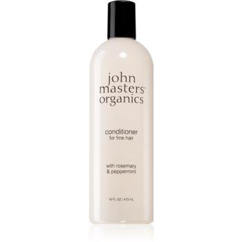 John Masters Organics Rosemary & Peppermint balsam pentru par fin