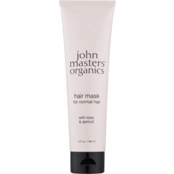 John Masters Organics Rose & Apricot Masca de par