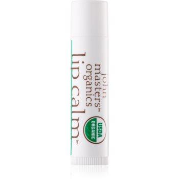 John Masters Organics Lip Calm Peppermint balsam de buze