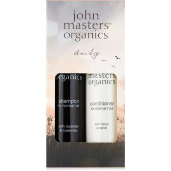 John Masters Organics Lavender Rosemary set cadou II. (pentru par normal) imagine