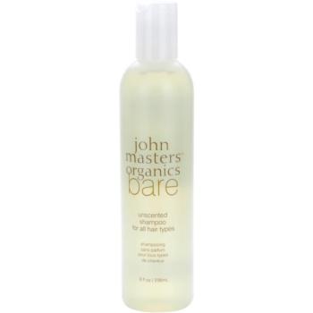 John Masters Organics Bare Unscented Sampon pentru toate tipurile de par fara parfum