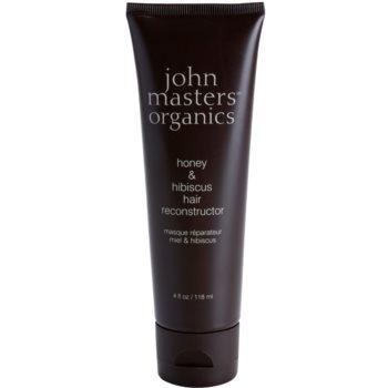John Masters Organics Honey & Hibiscus obnovitvena maska za krepitev las