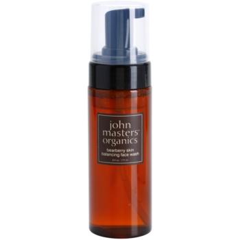 John Masters Organics Oily to Combination Skin espuma de limpeza equilibradora da produção sebácea