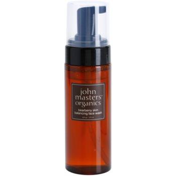 John Masters Organics Oily to Combination Skin spuma de curatare ce echilibreaza excesul sebum