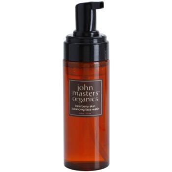 John Masters Organics Oily to Combination Skin čistilna pena za uravnoteženje proizvodnje sebuma 1