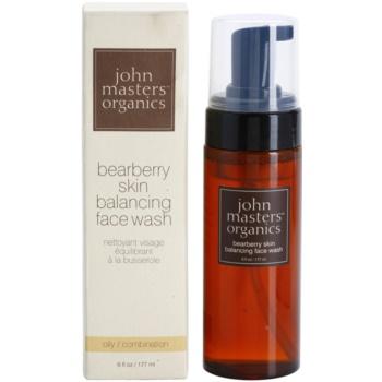 John Masters Organics Oily to Combination Skin čistilna pena za uravnoteženje proizvodnje sebuma 2