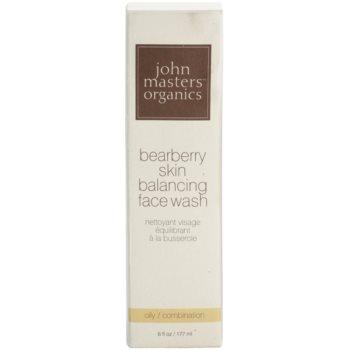 John Masters Organics Oily to Combination Skin čistilna pena za uravnoteženje proizvodnje sebuma 3