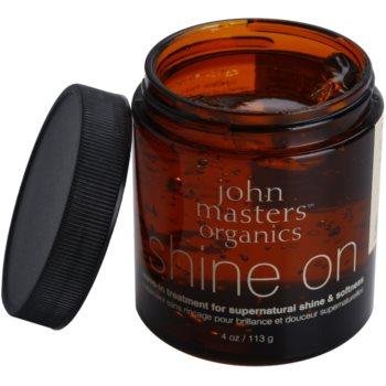 John Masters Organics Shine On stiling gel za gladke in sijoče lase 1