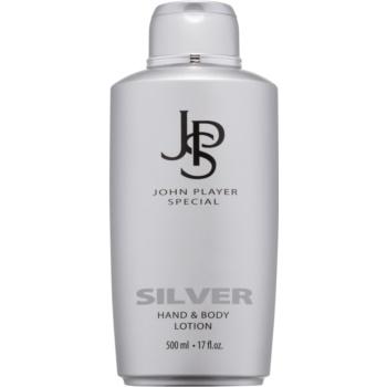 John Player Special Silver lapte de corp pentru barbati 500 ml