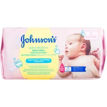 Johnsons Baby Diapering servetele umede ultra-delicate pentru copii