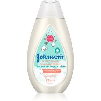 Johnson's® Cottontouch lo?iune hidratantã pentru corp ?i fa?ã pentru nou-nascuti si copii imagine produs