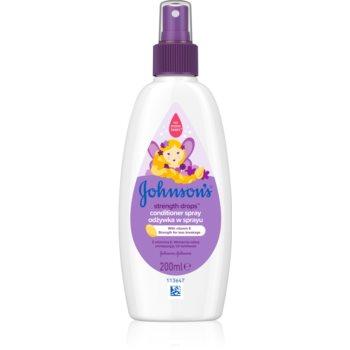 Johnson's® Strenght Drops balsam pentru indreptare pentru copii imagine produs