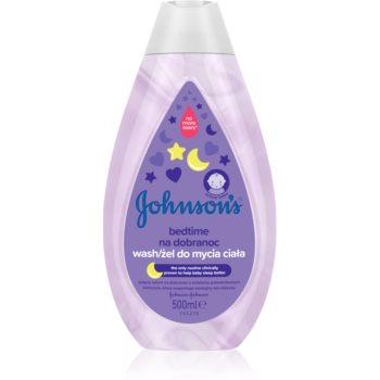 Johnson's® Bedtime gel de curã?are pentru un somn lini?tit pentru pielea bebelusului imagine produs