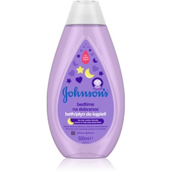 Johnson's® Bedtime baie calmanta pentru nou-nascuti si copii imagine produs
