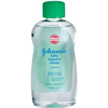 Johnson's Baby Care ulei pentru copii cu aloe vera