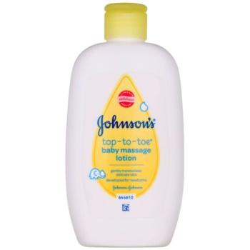 Johnson's Baby Top-to-Toe lapte de corp pentru masaj destinat copiilor
