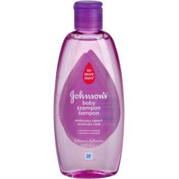 Johnson's Baby Wash and Bath успокояващ шампоан с лавандула