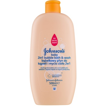 Johnson's Baby Wash and Bath spumant de baie și gel de duș 2 in 1